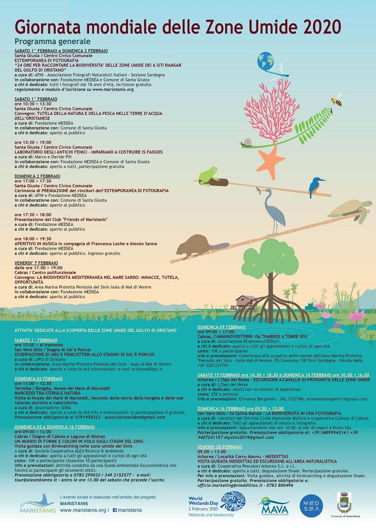 Giornata mondiale delle zone umide Oristano