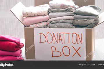 donazione vestiti