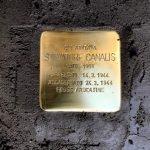 A Roma una pietra d'inciampo per il sardo Rino Canalis