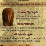 Cagliari, 14 febbraio, seminario sulla donna della Sardegna del I millennio a.C.