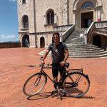 Tramonti, Francesco Accardo conclude in Alto Adige il tour in bici post lockdown