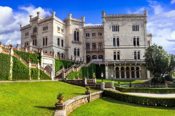 One of the most beautiful castles of Italy - Miramare in Trieste