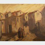 """Al Centro Giovanni Lilliu di Barumini riaprono le porte dell'arte con la mostra """"Mario Cesare. Dalla tela dipinta alla forma scolpita"""""""