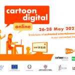 """Riflettori puntati sul cinema di animazione """"Made in Sardegna"""" con l'evento internazionale Cartoon Digital 2021"""