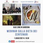 Blue zone in Sardegna. Webinar sulla dieta dei centenari