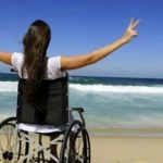 Uno spazio nella spiaggia del Poetto dedicato alle persone con disabilità gravissime
