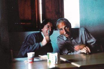 Langer e Illich a Montebello nel 1987